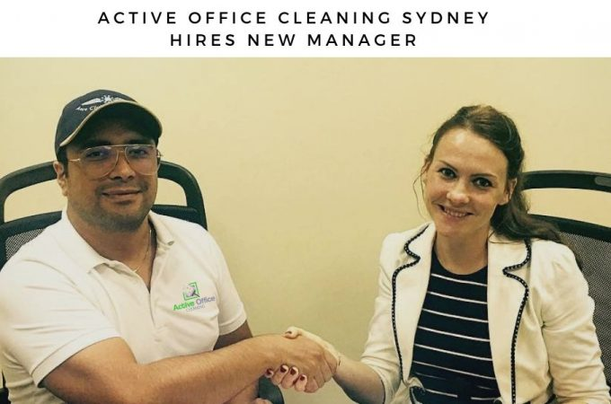 Active Office Cleaning Sydney Hires New Site Manager for Carpet Cleaning Dept