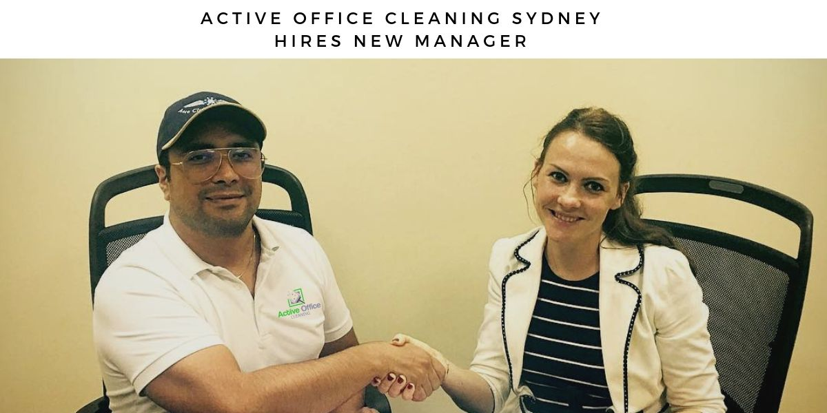 Active Office Cleaning Sydney Hires new manager to expand carpet cleaning services
